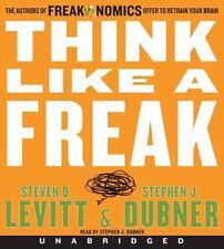 Think Like a Freak by Steven D. Levitt and Stephen J. Dubner (2014, CD)
