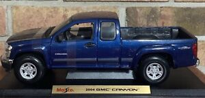 2004 BLUE GMC CANYON PICKUP SPECIAL EDITION MAISTO 1:18 SCALE BRAND NEW