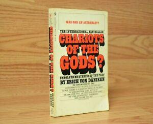 Chariots of the Gods? (1972, Paperback) by Erich Von Daniken Bantam VINTAGE
