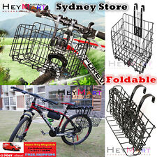 Bicycle Quick Release Bike Basket for Front or Rear Extra Storage Bike Baskets