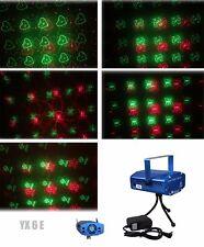 6 in 1 LED Laser Bühnenlicht Disco Party Lichteffekt Licht Lampe Projektor GX6E