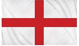 England Flag St George Cross Flags Bunting English Party Football Rugby 3x2, 5x3