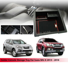 Center Console Storage Armrest Box Tray Use Isuzu MU-X 2013 - 2018