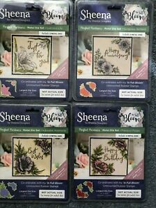 SHEENA DOUGLASS IN FULL BLOOM PERFECT PARTNERS DIE SETS CRAFTERS COMPANION NEW