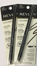 REVLON COLORSTAY EYELINER...202...black Brown(DARKER BROWN) Waterproof 2 Pieces