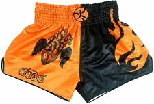 Huolei Muay Thai Shorts for Men and Women, High Grade Mma Gym Boxing Kickboxing