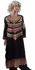 Black   Bollywood Designer Pakistani  Salwar kameez  Chest Size 44  Ethnic Dress