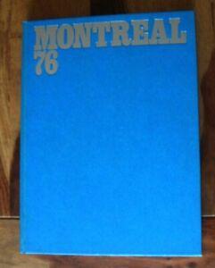 Bildband OLYMPIADE MONTREAL 1976 - in 3 Sprachen