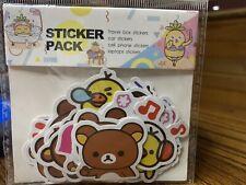 San-X Rilakkuma Sticker Pack 40pcs. Car, Laptop, Book, Travel Box Stickers