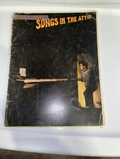 Billy Joel Songs In The Attic Sheet Music 1981