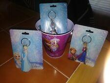 Disney Frozen Anna, Ellsa & Olaf Keychain plus Frozen Tin Box