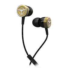 Tiësto Audiofly Clublife Maximal SingleDriver Isolating Earphones+mic Gold NEW