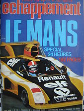 rare ECHAPPEMENT 1976 24 H DU MANS / ALPINE A 310 SX / SAFARI RALLY / BMW 533