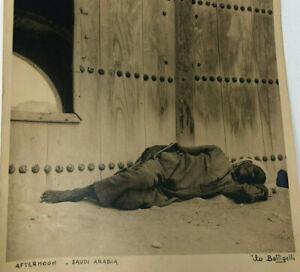 AFTERNOON -SAUDI ARABIA  - Signed Original Photograph ILO BATTIGELLI Aramco 1946