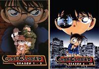 Case Closed - Detective Conan (Season 1 ~ 10) ~ 16-DVD SET ~ All Region ~