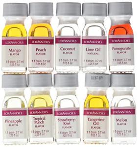 Lorann Oils Dram 10 Pack FF#2 Fruit Flavor Pack of 10, 1 Dram