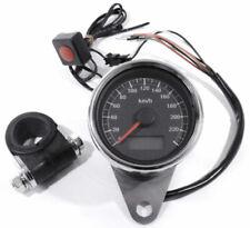 Marcadores e indicadores de color principal negro para motos Harley-Davidson