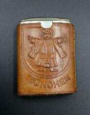 altes Streichholz Etui um 1920 München, Kindl, Liebfrauenbasar