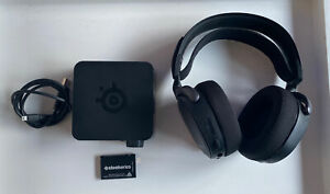 SteelSeries Arctis Pro Wireless Headset (Black) With Transceiver