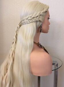 Daenerys Khaleesi Wig Blonde 32 Inch Long Wavy Heat Resistant Ok Game Of Throne