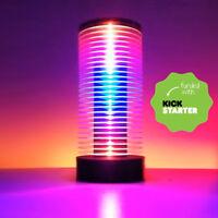 Muzio VU Meter LED Music Tower - Music Spectrum Audio Analyzer Fully Assembled