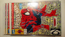 SPIDER-MAN # 1 9.8 NM+ Stan Lee  Amazing. Venom Suit # 1 Todd Mcfarlan TORMENT