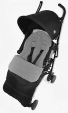 Sacos y cubrepiés color principal gris para carritos y sillas de bebé Maclaren