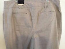 Lane Bryant Womens Beige Peach Striped Career Trousers Pants Size 18 Avg