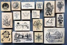 RARE PSX RUBBER STAMPS ~ HOLIDAY CHRISTMAS & WINTER THEME DESIGNS ~ YOU CHOOSE