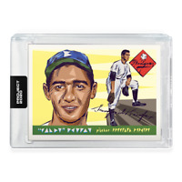 TOPPS PROJECT 2020 - SANDY KOUFAX #89 -1955 Rookie by NATUREL - BROOKLYN DODGERS