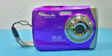 CAMARA WERLISA NICEPIX WP 5.0MP SUMERGIBLE PURPURA ZOOM DIGITAL 8X MEMORY 2GB
