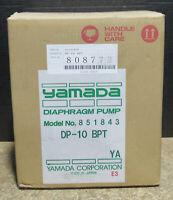 New YAMADA DP-10BPT Air Activated Double Diaphragm Transfer Pump 100 psi #851843