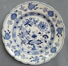 Meissen Blue Onion Salad Plate 7 5/8 Inches
