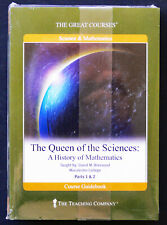 GREAT COURSES 4 DVD's + Book THE QUEEN OF THE SCIENCES - HISTORY OF MATHEMATICS