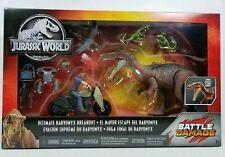 Mattel Jurassic World Park Dinosaur Breakout Battle Damage Action Figure PlaySet