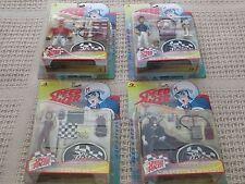 New 1999 Resaurus Series 1 And Series 2 Speed Racer Figures Figure Set Nice!