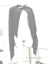 ladies dark grey waterfall cardigan/wrap size small new in packet