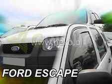 FORD ESCAPE 5-portes 2000-2007 Deflecteurs de vent 2-pièces HEKO Bulles