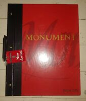 """Monument Beacon House Wallpaper Sample Book 17"""" x 13"""" missing pages / crafts"""