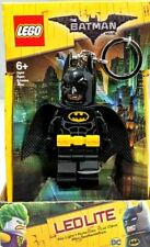 NEW! LEGO Led Lite LED Flashlight Key Chain Batman Movie Key Light Keychain Cars