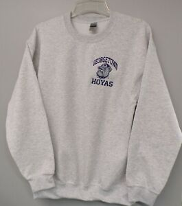 Georgetown Hoyas Logo Embroidered Sweatshirt S-5XL, LT-4XLT NCAA New