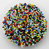 Wholesale 1000Pcs Round Czech Glass Seed Loose Spacer Beads Jewelry Findings 2MM