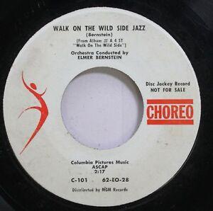 Hear! Jazz Banda Sonora Promo 45 Elmer Bernstein - Walk On The Wild Side / Wa