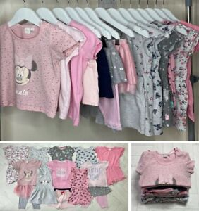 14x BABY GIRLS SUMMER CLOTHES BUNDLE – 12-18 MONTHS - USED - EXCELLENT CONDITION