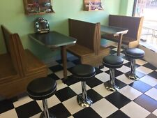 Vintage Art Deco Diner Stools - Soda Fountain