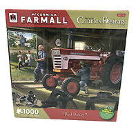 McCormick Farmall Tractor Puzzle Red Power Charles Freitag 1000 Pcs Sealed New