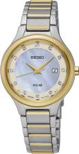 Seiko SUT318 SUT318P9 Ladies Solar Diamond Watch two-tone NEW RRP $675.00
