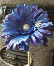 Blue VW flower  Gerbera pearl & snowflake VW Beetle SEE OUR WHOLE RANGE