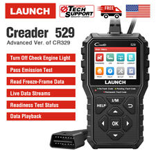 LAUNCH CR529 OBD OBD2 Engine Universal Car Code Reader Scanner Diagnostic Tool