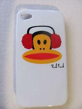 Coque Housse Etui SINGE ECOUTEURS Pour IPhone 4 4S